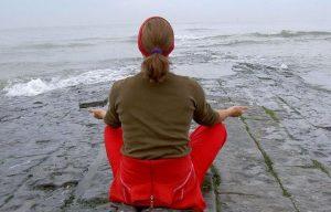 Christelijke zomer meditatie