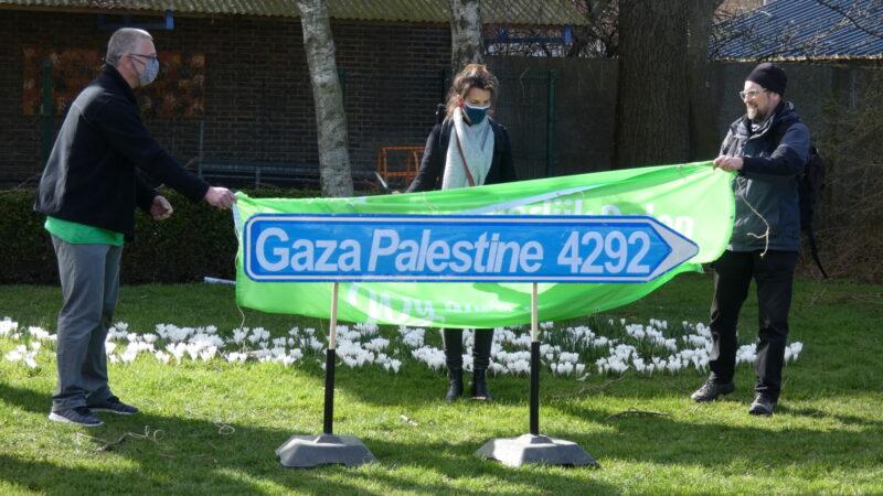 Wandelen voor Gaza nog tot en met Pinkstermaandag